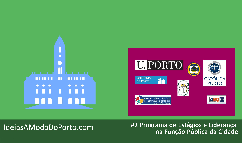 Não seria interessante ter um programa de estágios de excelência na Câmara do Porto?