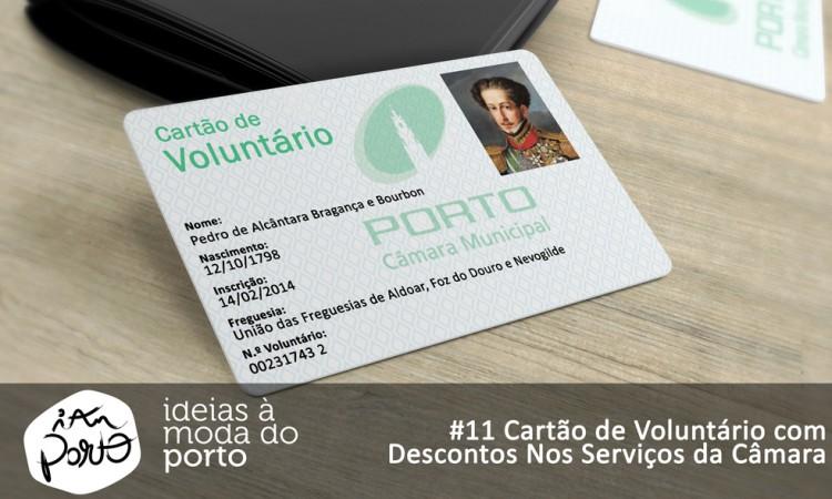 #11 Cartão de Voluntário com Descontos nos Serviços da Câmara