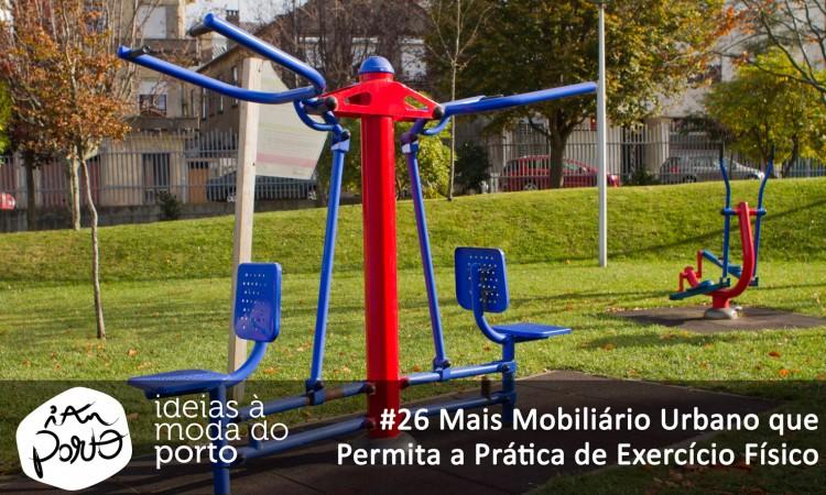 26 Mais Mobiliario Urbano Que Permita A Pratica De Exercicio Fisico