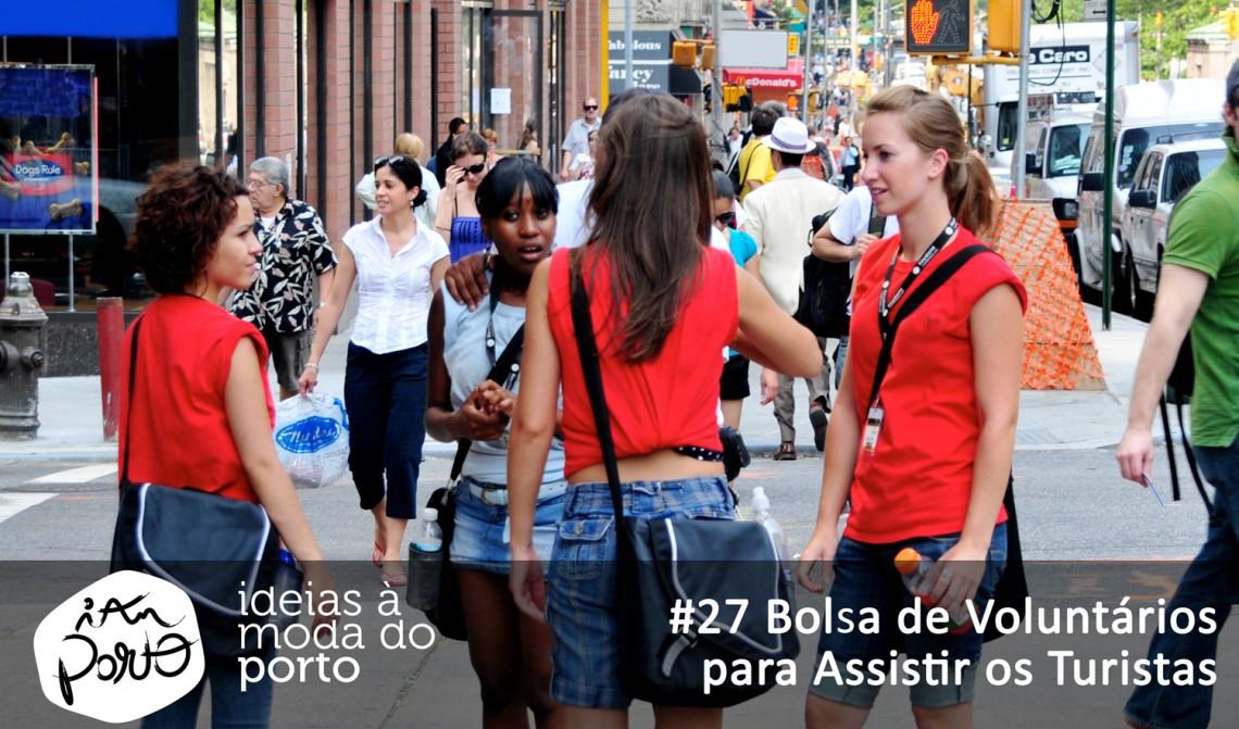 #27 Bolsa de Voluntários para Ajudar os Turistas