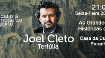 Evento Dr. Joel Cleto com a Plataforma de Pensamento Ideias à Moda do Porto