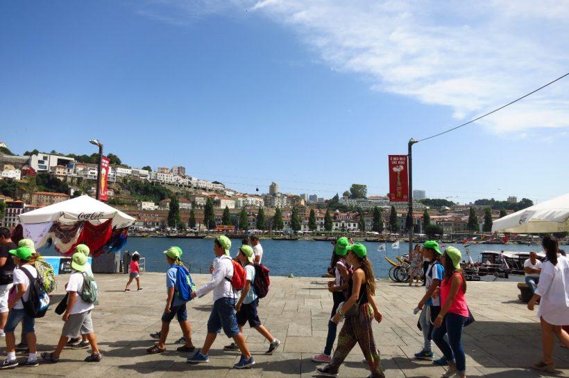 Imagem da Ribeira do Porto
